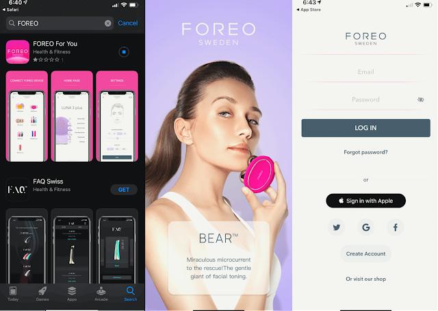 Foreo Sweeden App