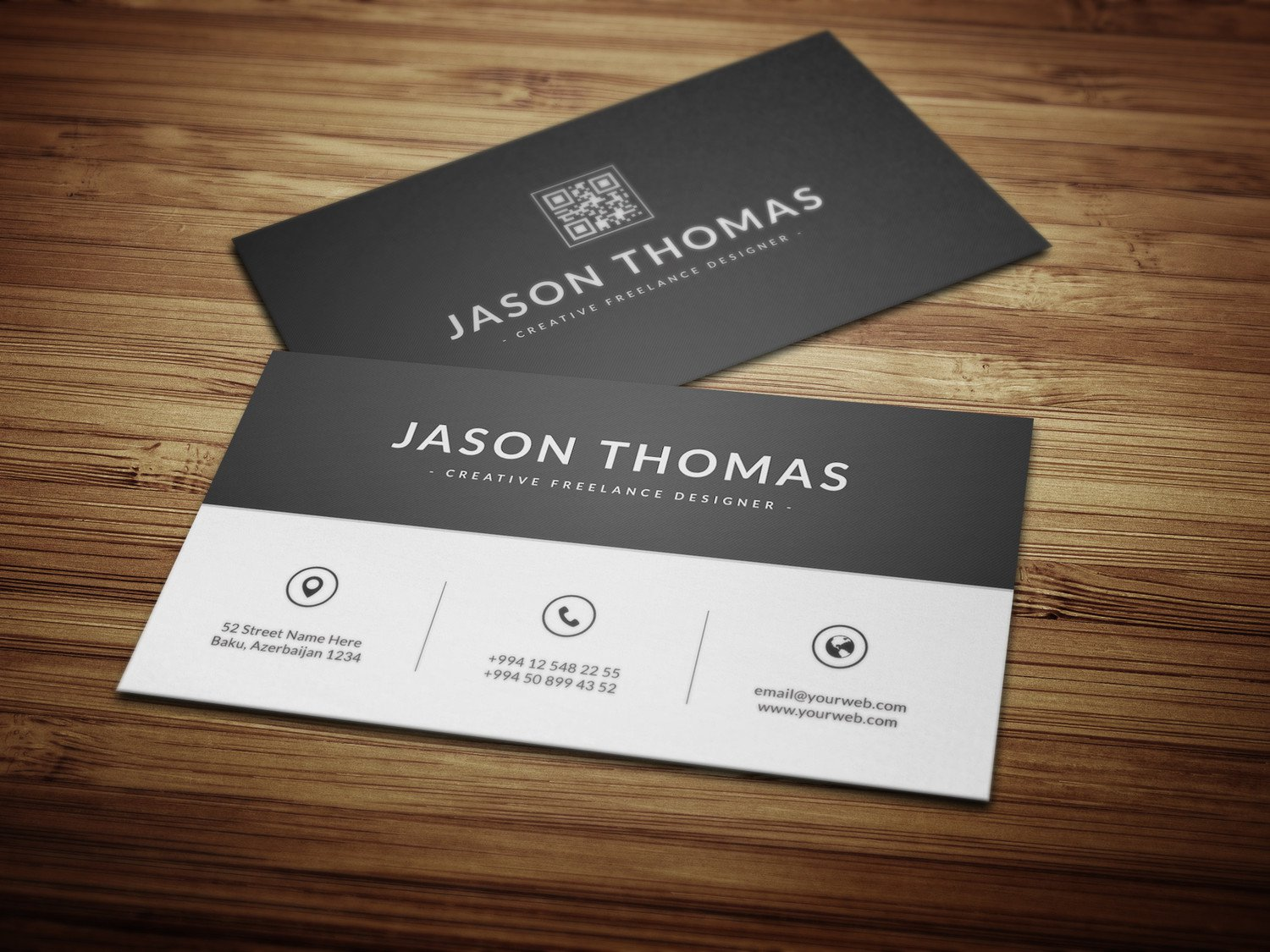 Free business card design business card tips free business card design wajeb Gallery