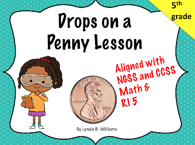 https://www.teacherspayteachers.com/Product/Drops-of-Water-on-a-Penny-Lesson-5-E-Lesson-2914597