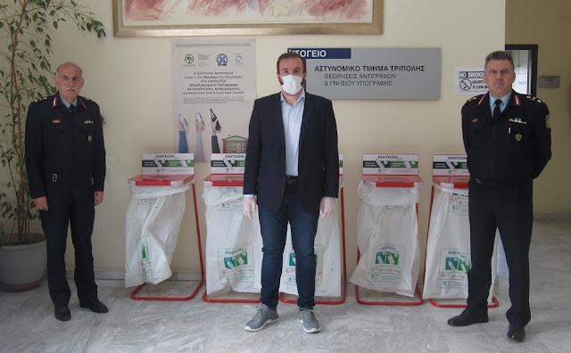 Ανταποδοτική ανακύκλωση και για τους αστυνομικούς στην Αργολίδα