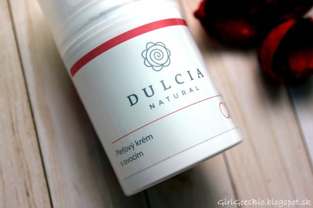 Dulcia natural pletovy krem s ovocim a koenzymom Q10 na mastnu a problematicku plet