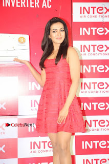Actress Catherine Tresa Unveils Intex Air Conditioners  0011.jpg