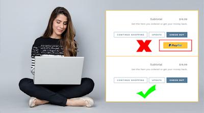 طريقة إزالة زر الباي بال من قالب شوبيفاي Shopify Payment Paypal