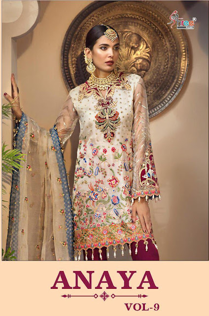 Shree Fab Anaya vol 9 Pakistani Suits wholesaler