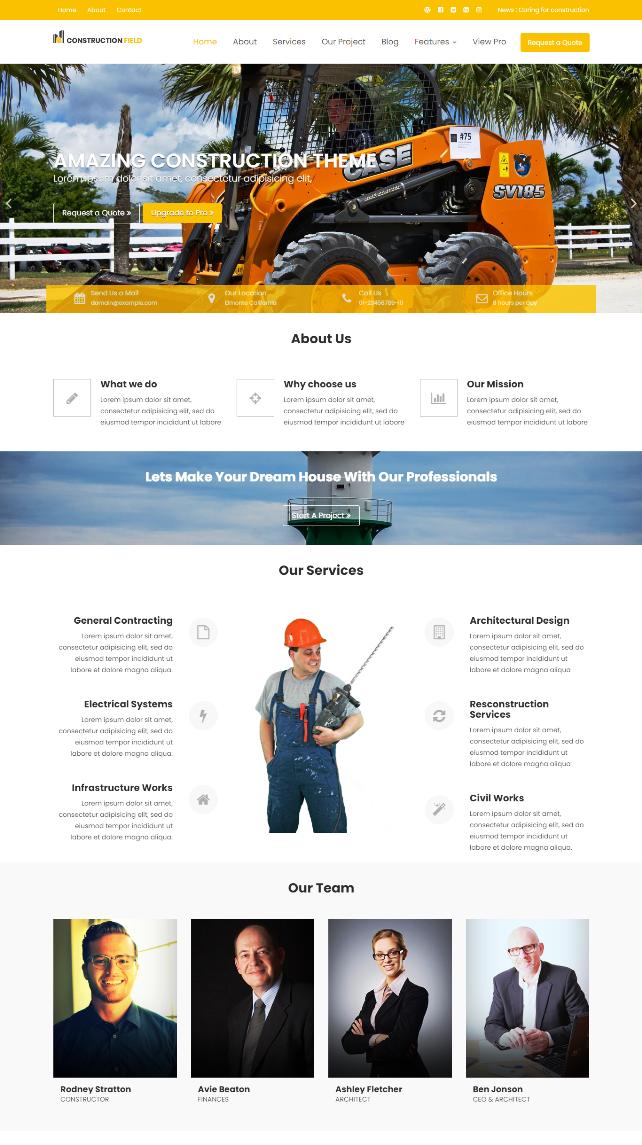 Desain Web Bisnis Perusahaan
