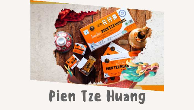 Obat Pien tze huang asli