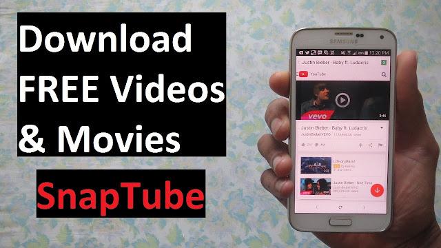 تطبيق SnapTube الرائع لتحميل اى فيديو او صوت لهاتفك ، يدعم أكثر من 27 موقع و بمختلف الجودات