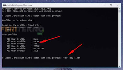 cara bobol password wifi pakai cmd 4