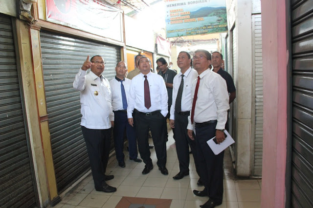 Wakil Wali Kota Tinjau  3 BUMD Pemko Medan