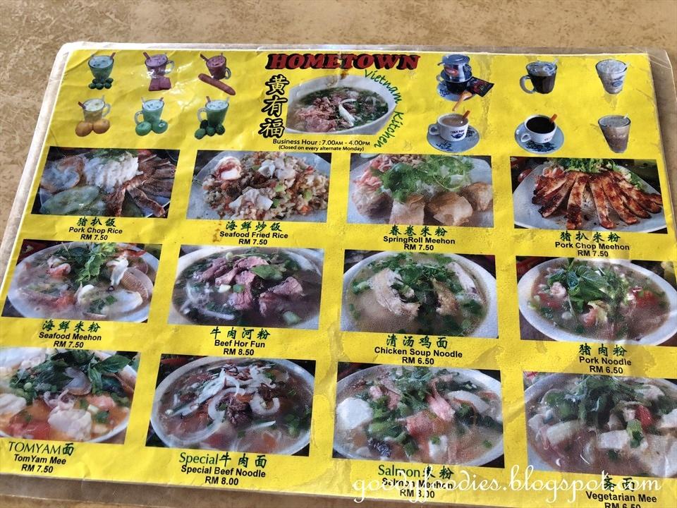 Goodyfoodies Hometown Vietnam Kitchen Taman Connaught Kl