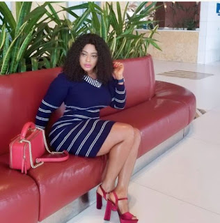 This Backside Photo Of Actress, Biodun Okeowo Has Been Making Fans Go Gaga