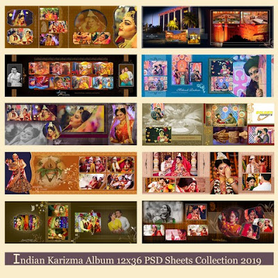 beautiful-indian-karizma-wedding-album-PSD-sheets