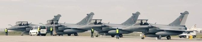 Fifth Batch of Rafale Jets Land In India After Direct Ferry From French Airbase