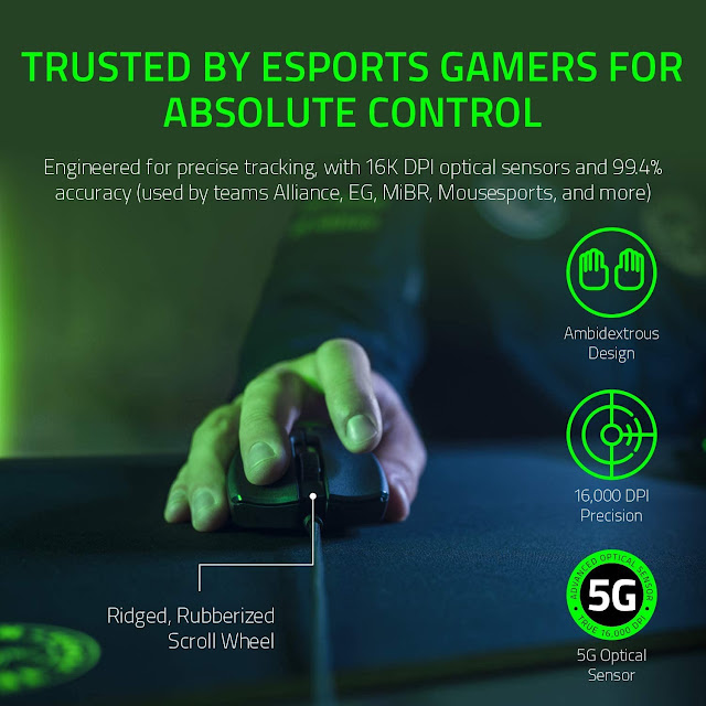 Razer Viper - The World's Most Flexible Gaming Mouse