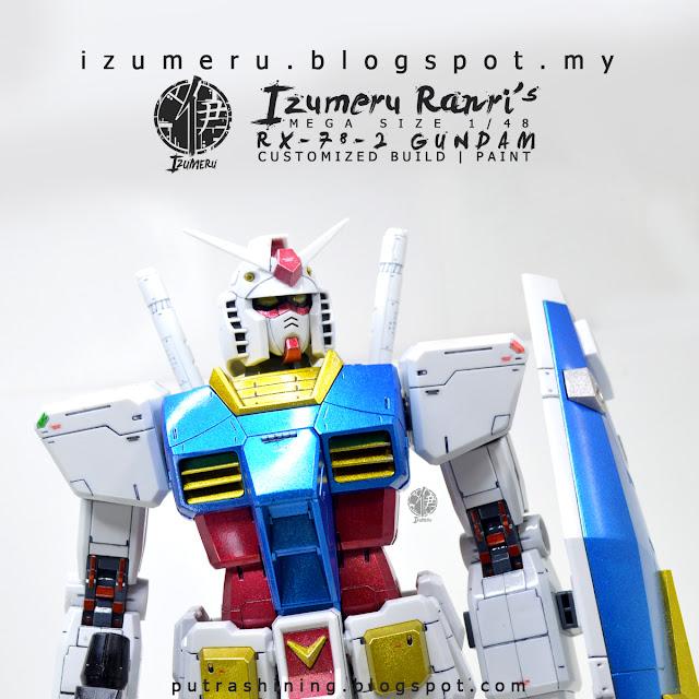 Izumeru Ranri's RX-78-2 Gundam Mega Size 1/48 Custom Paint