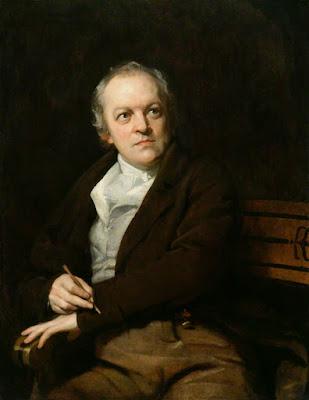 Retrato de William Blake por Thomas Phillips