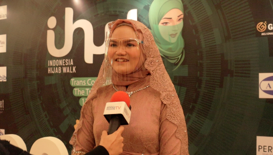 Nabiila Gita, Modest Fashion Business Milenial Sukses Tampil Perdana di Indonesia Hijab Walk