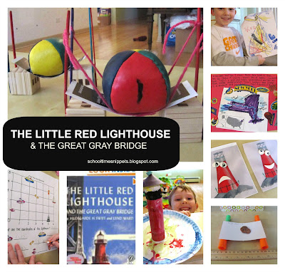 The Little Red Lighthouse and the Great Gray Bridge Go Along Activities