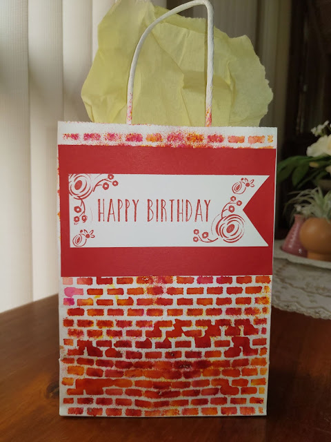 Stampin' Up Pigment Sprinkles Bag Perennial Birthday