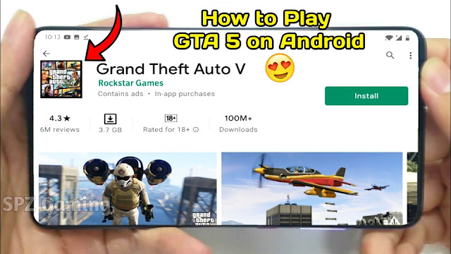 Download Real GTA 5 on Android Mobile || How To Play Real GTA 5 on Any Android | 100% Working