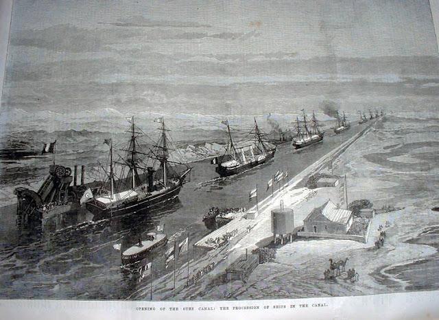 1865: Ένα ελληνικό τρεχαντήρι από το Κρανίδι διασχίζει πρώτο στον κόσμο την διώρυγα του Σουέζ