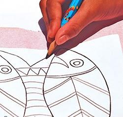 Cách vẽ mẫu thêu lên vải - Hình 5