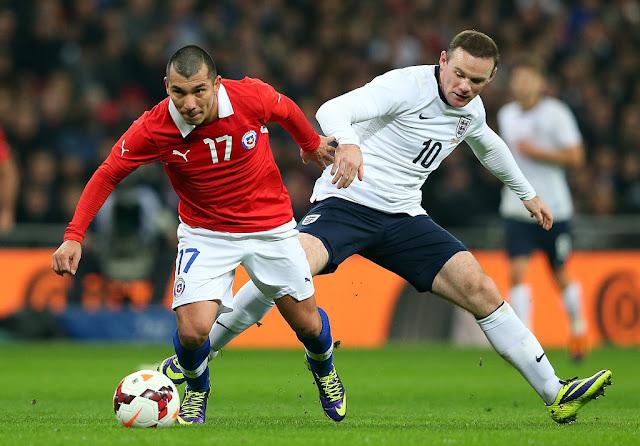 Inglaterra y Chile en partido amistoso, 15 de noviembre de 2013
