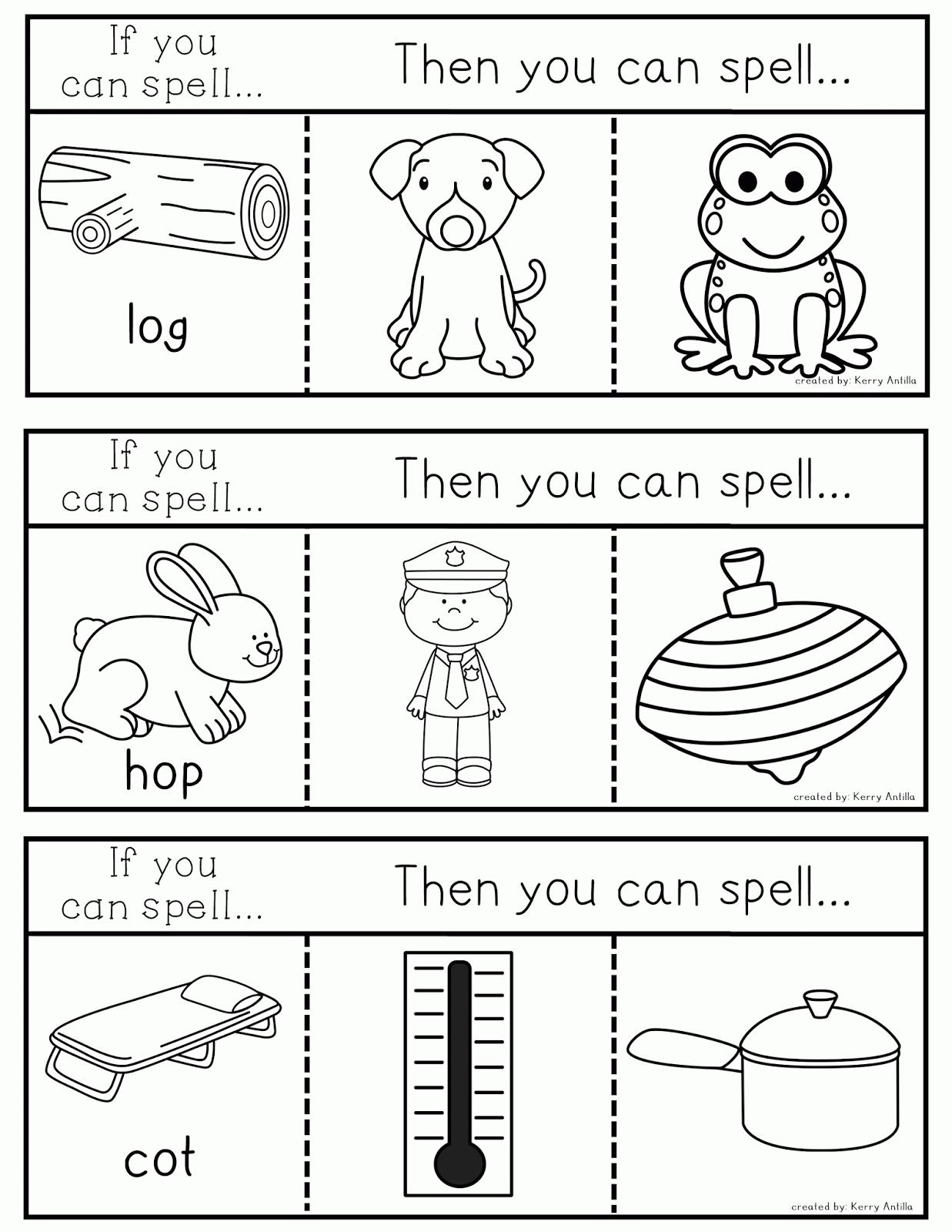 Kindergarten Kerry Phonics Interactive Journals