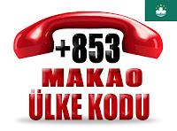 +853 Makao ülke telefon kodu