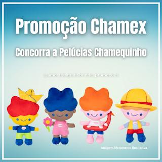 Promoção Concorra a Lindas Pelúcias Chamequinho