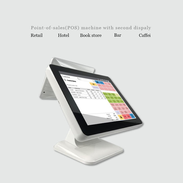 dual screen pos terminal android