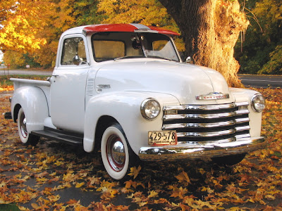 Complete Wiring Diagram of 1950-1951 Chevrolet Pickup ...