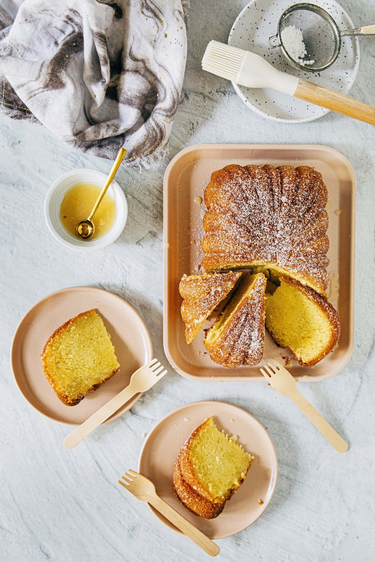 bourbon butter pound cake