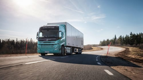 Volvo will launch a full line of electric trucks in Europe in 2021