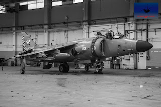 Royal Navy British Aerospace Sea Harrier Cosford