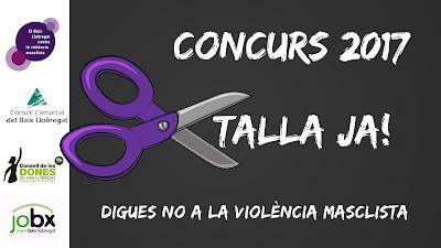 Concurs TALLA JA! Contra violència masclista
