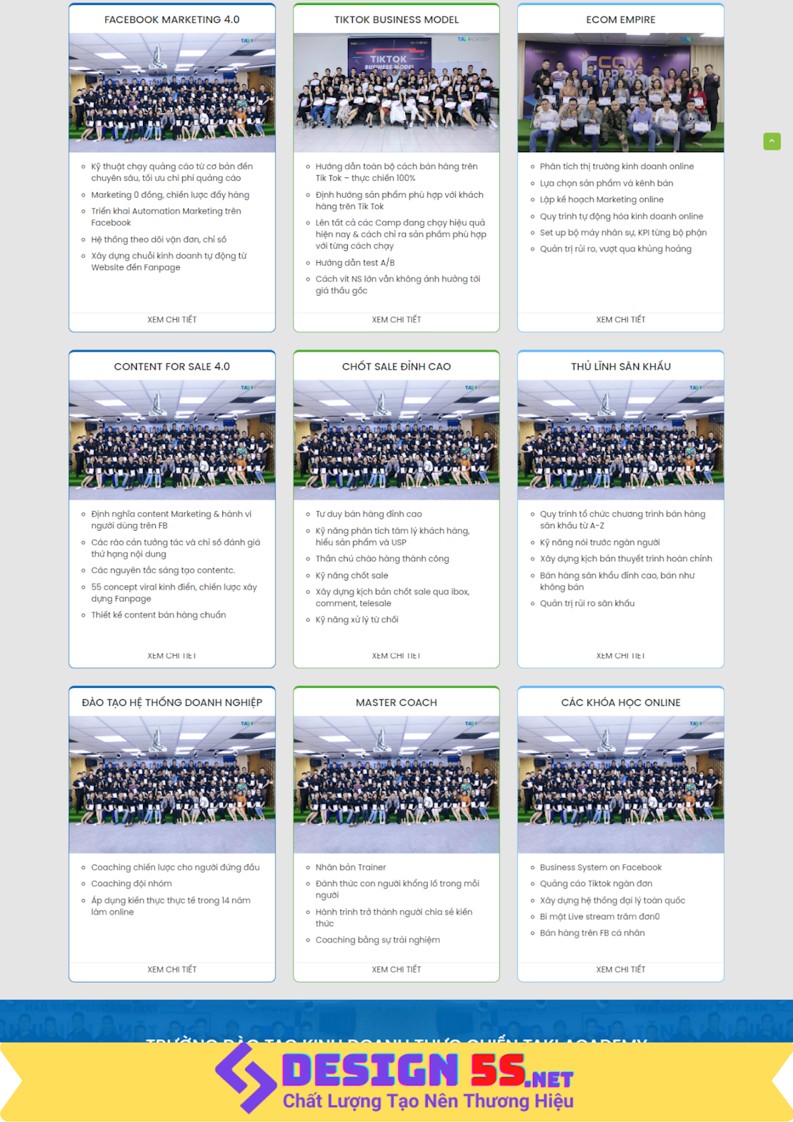 Mẫu website landing page dịch vụ marketing online tổng hợp - Ảnh 2