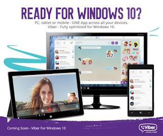 Viber di Windows 10 Kini Sudah di Bekali Fitur Video Call
