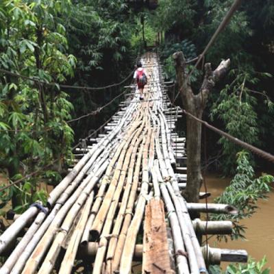 Jembatan dari Bambu