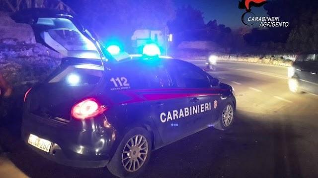 Realmonte e Siculiana. I carabinieri interrompono tre serate danzanti non autorizzate.