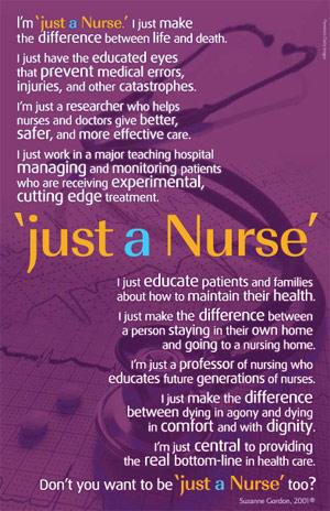 nurse just