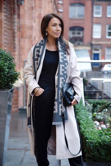 Women's winter coat outfit