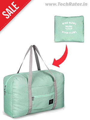 Foldable Bag for Travel, Gym, and Shopping