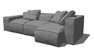 sketchup-model-sofa-bonaldo#1a