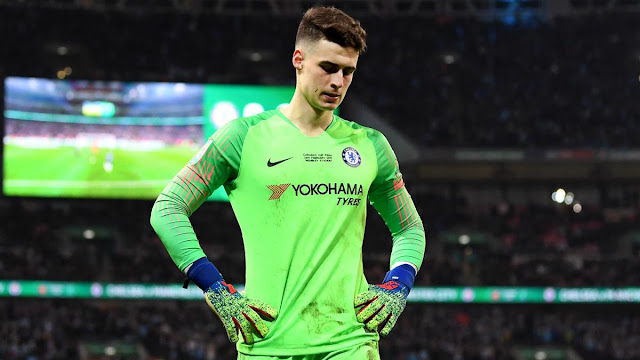 Kepa need to do more hard work - Frank Lampard, Dropping Kepa will make him stronger