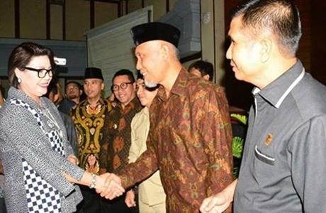 Hadiri Rakor Bersama KPK, Ketua DPRD Padang Dukung Upaya Pemberantasan Korupsi