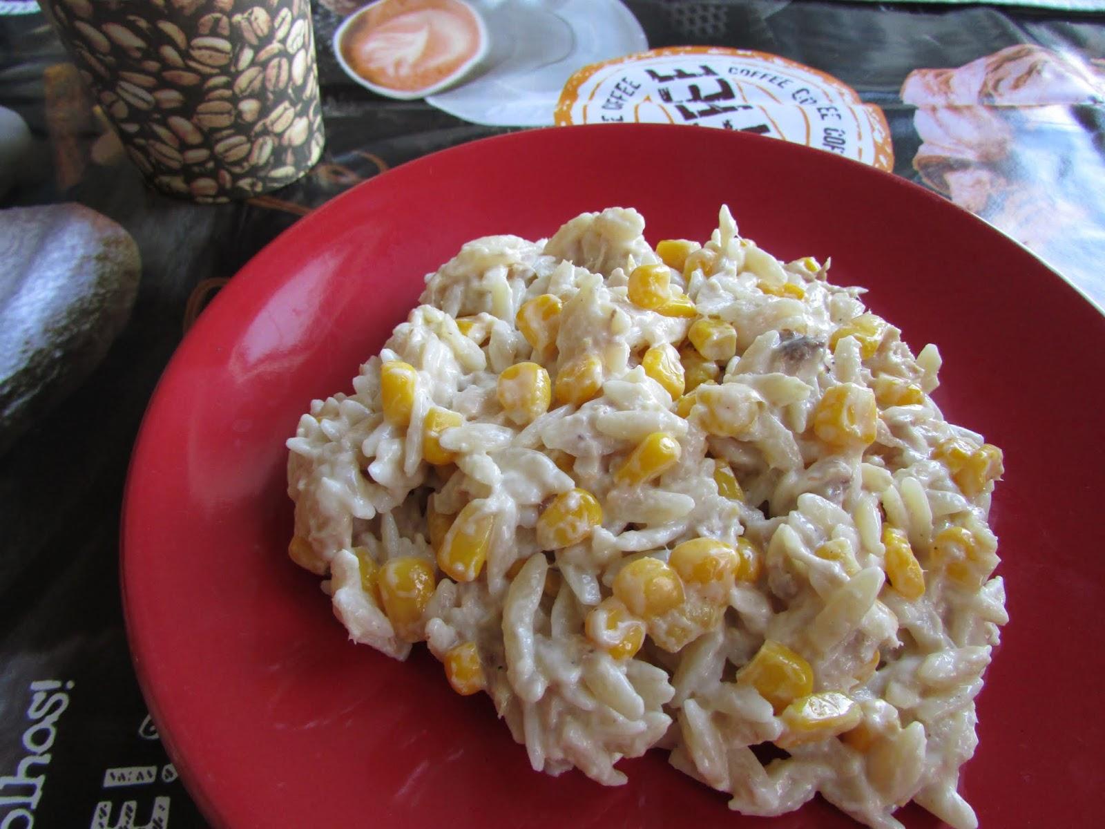 Moje Kulinarne Wariacje Salatka Z Tunczykiem I Kukurydza