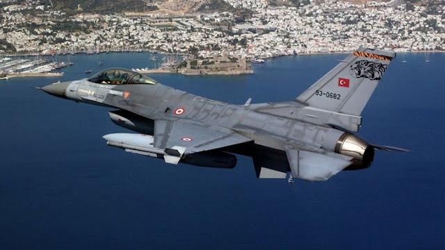 Συνετρίβη τουρκικό F-16