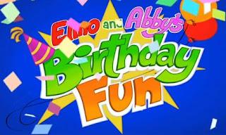 Sesame Street Elmo and Abby's Birthday Fun first scene.