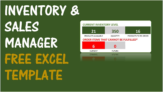 Inventory and Sales Manager (Free Excel Template) for Small Business